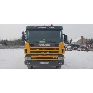 Samochód ciężarowy wywrotka Scania 114 C.340 KM