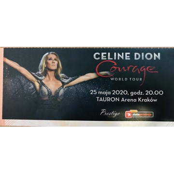 Bilet na koncert Celine Dion