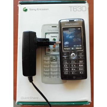 Sony Ericsson T630 Black bez simlocka