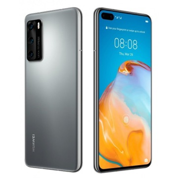 Smartfon Huawei P40 PRO 5G 256GB Silver srebrny
