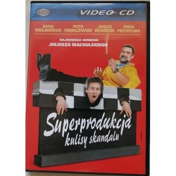 """FILM """"Superprodukcja"""" VCD, 2 PŁYTY, PUDEŁKO."""