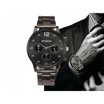 Luksusowy zegarek męski LICYTACJA  OD 1 ZŁ