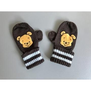 Rękawiczki niemowlęce Kubuś Puchatek