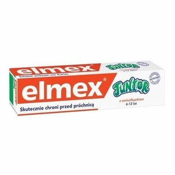 ELMEX Junior 6-12 lat przeciw próchnicy 75 ml.