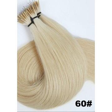 Włosy Naturalne Nanoringi Grube pasma