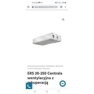 Centrala wentylacyjna z Rekuperacja Nibe ERS 20250