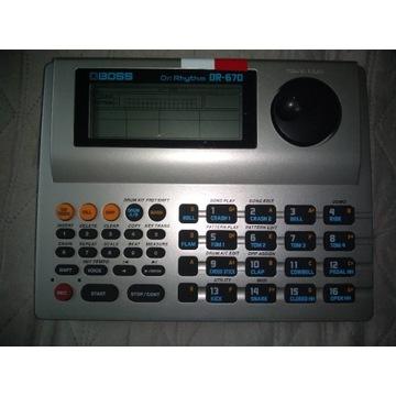 Automat perkusyjny BOSS DR 670