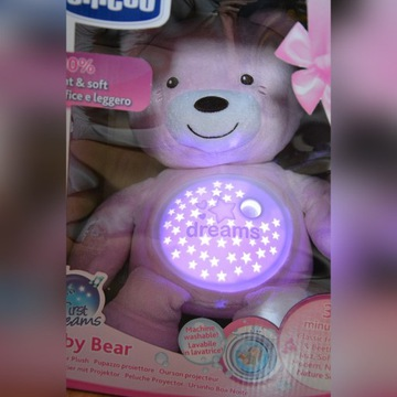 Miś Chicco First Dreams Baby Bear Projector