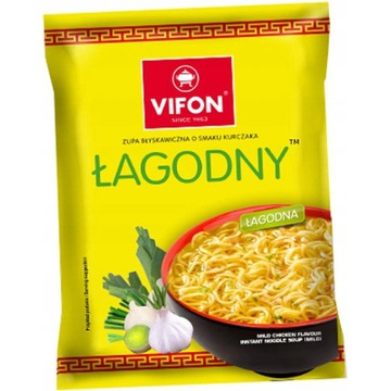 Zupka Vifon Łagodny Kurczak