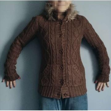 Fishbone M z ocieplaczem Gruby swetr