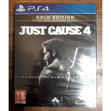 Gra Just Cause 4 GOLD EDITION PS4 Nowa w folii
