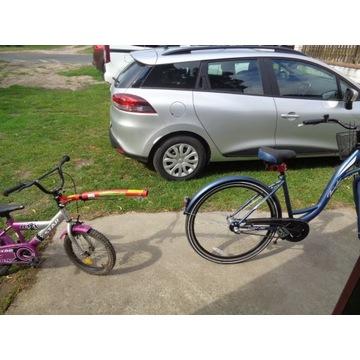 Hak rowerowy prawie nowy