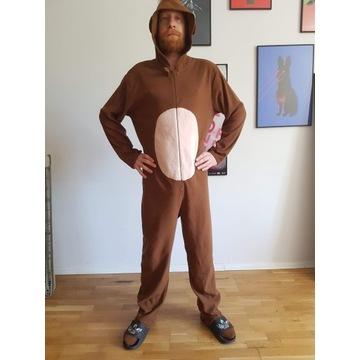 Piżama onesie małpa rozmiar L