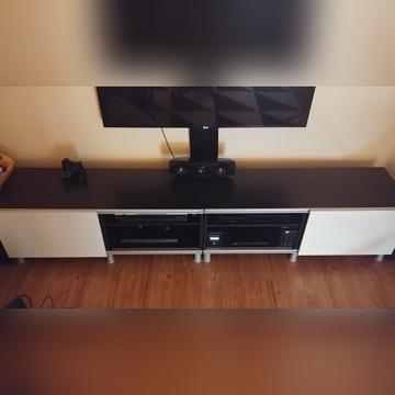 Szafka podwójna pod telewizor
