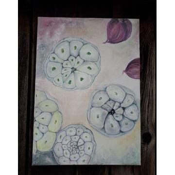 Obraz olejny na płótnie 70x50 cm, niespotykany