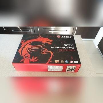Laptop do gier MSI Apache i7-7000HQ SSD 256 GRATIS