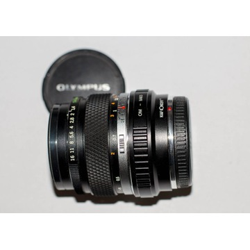 Obiektyw Olympus 1.4 50mm OM M 4/3, MFT