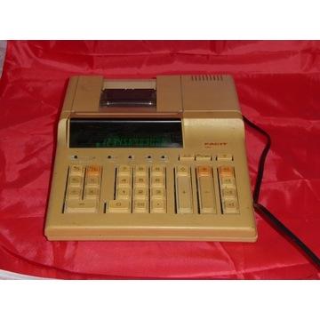 kalkulator z drukarką vintage facit 2261 1987r