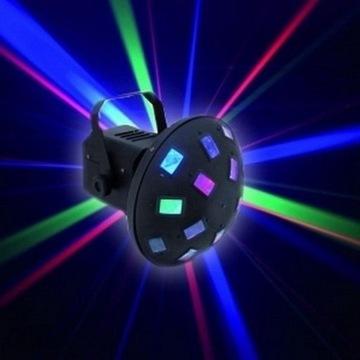 Eurolite Z-100 LED 66 RGB Swiatło Mikrofon Efekty