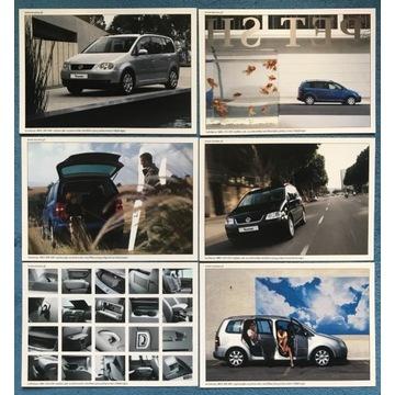 Pocztówki reklamowe VW Touran 6szt + 5szt gratis