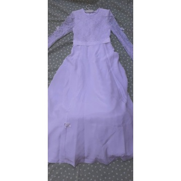 Sukienka komunijna - dł.116 cm.