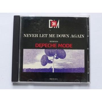 Depeche Mode - Never Let Me Down Again - CD Promo