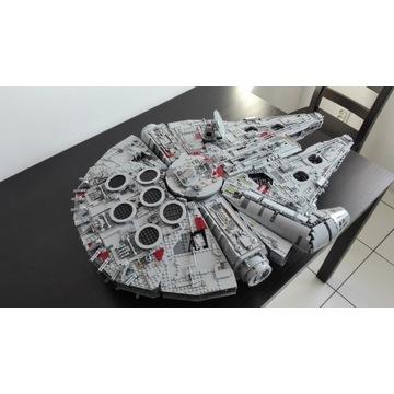 Replika Lepin modelu Lego 75192 Sokół Millenium