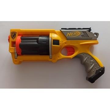 pistolet NERF N-Strike MAVERICK REV-6 żółty