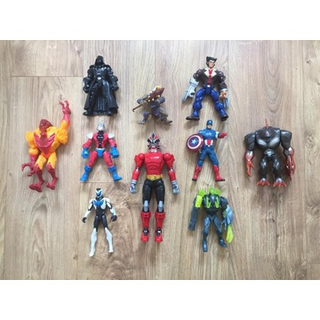 Zestaw figurek MARVEL Captain America, X MAN, etc.