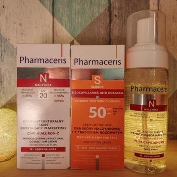 PHARMACERIS - zestaw skóra naczynkowa wrażliwa