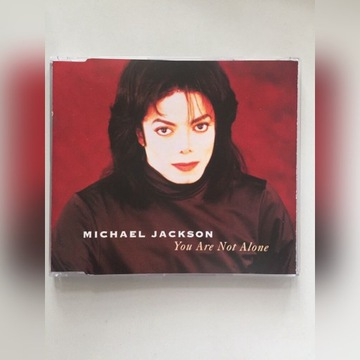 """Michael Jackson """"You Are Not Alone"""" singiel CD"""