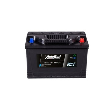 Akumulator 12v 125Ah 950A AUTOPART