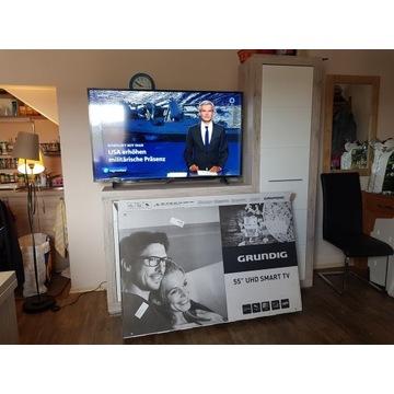 TELEWIZOR GRUNDIG 55'' UHD SMART TV