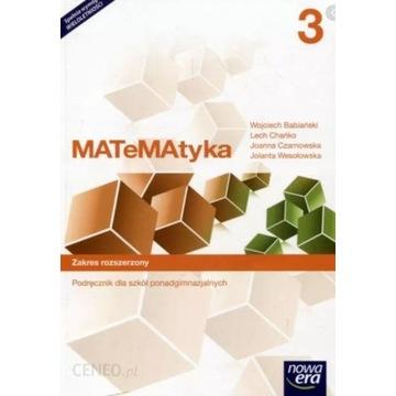 Matematyka 3 zakres rozszerzony Nowa Era PDF