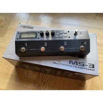 Multiefekt gitarowy, switcher Boss MS-3