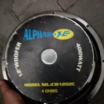 Głośnik niskotonowy Alphard 1202c