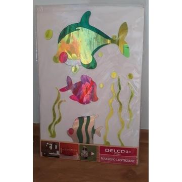 Naklejki lustrzane lusterka ryby rybki