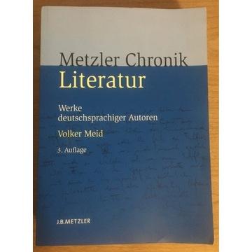 Metzler Chronik Literatur 3. Auflage