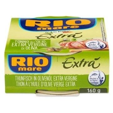 RIO MARE - tuńczyk w oliwie z oliwek Extra 160 g