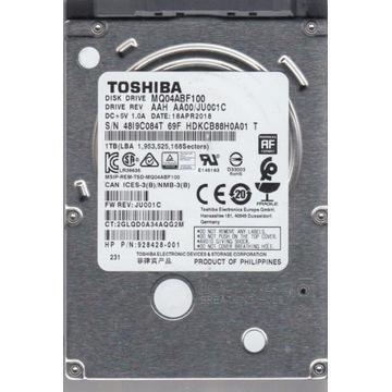 """Dysk twardy 1 TB 1000 GB, 2.5"""", TOSHIBA MQ04ABF100"""