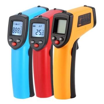 Laserowy Cyfrowy GM320 termometr bezdotykowy