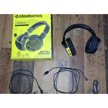 SteelSeries Arctis 1 Wireless Cyberpunk Edition