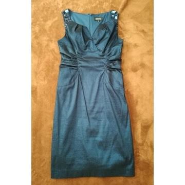 Elegancka wieczorowa suknia Adrianna Papell r. XS
