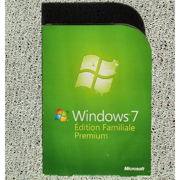 Windows 7 Home Premium BOX DVD FRENCH zaplombowany