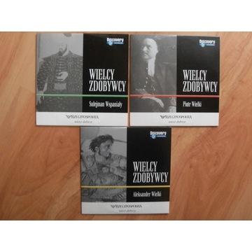 WIELCY ZDOBYWCY DISCOVERY KPL 3 PŁYTY VCD