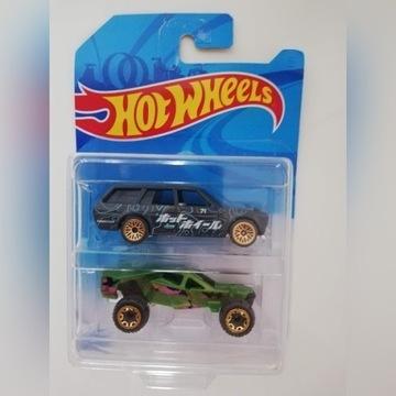 HOT WHEELS 2-Pack. 2 samochody. Nowe