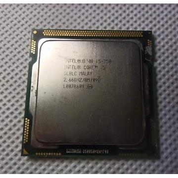 Intel i5 750 LGA1156 4 rdzenie 3,2Ghz