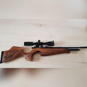 PCP CZ 200 S Hunter 4,5mm luneta Walther 3-9x44