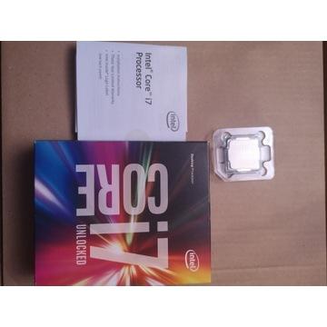 Procesor  Intel i7-7700k