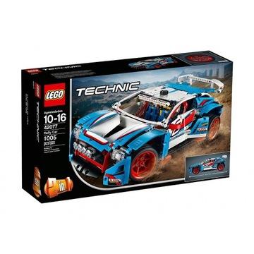 Lego Technic 42077 Niebieska Wyścigówka,ORYGINALNE